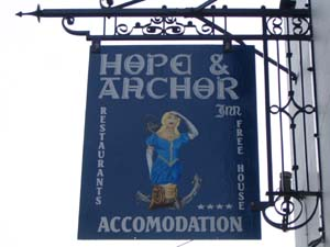 Hope and Anchor Inn, Goodwick, Fishguard